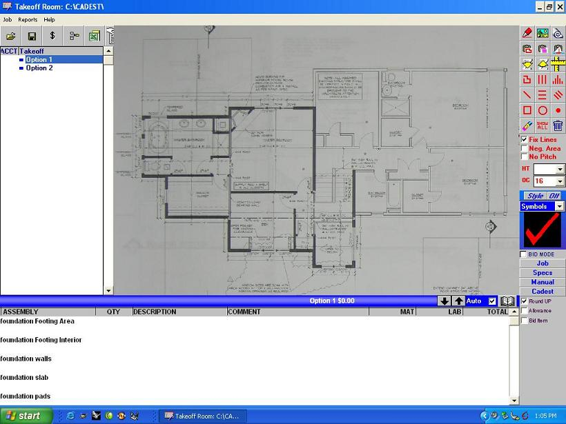 Turn your digital camera into a blueprint scanner for construction red line your blueprints on screen that look like this malvernweather Choice Image